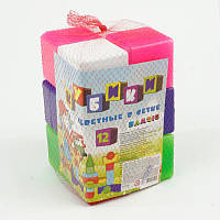 Кубики Bamsic Цветной 12 кубиков SKL11-180495