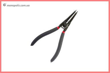 Щипцы для стопорных колец Intertool - 180 мм, прямые-разжим фосфат