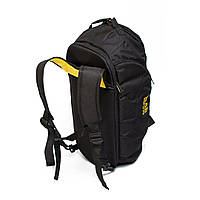 Спортивная сумка-рюкзак Infinity черно-желтая от MAD | born to win™