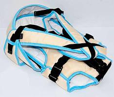 Рюкзак кенгуру, лежа, бежевый, предназначен для детей с двухмесячного возраста SKL11-181641