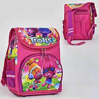 Рюкзак школьный каркасный с 1 отделением и 3 карманами, спинка ортопедическая SKL11-186092