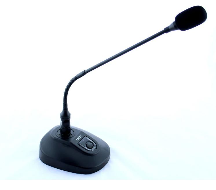Микрофон UKC DM MX-632C для конференций. Настольный микрофон для мероприятий