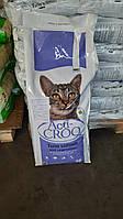 Полноценный сухой корм для взрослых котов и кошек Акти крок с тунцом и лососем Испания мешок 20 кг