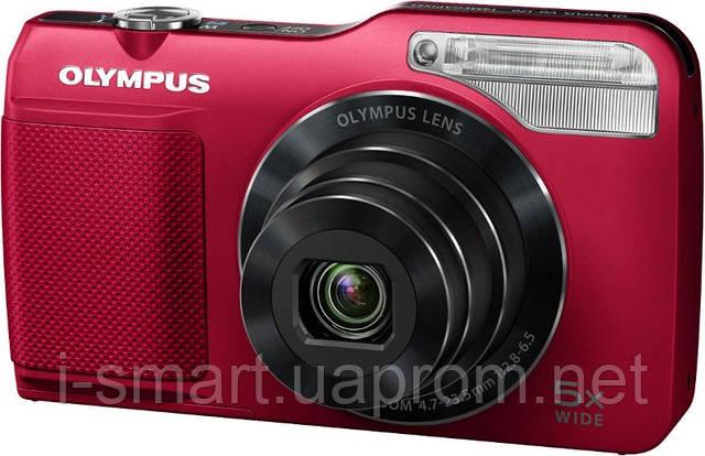 Фотокамера Olympus VG-170 (белый, красный)