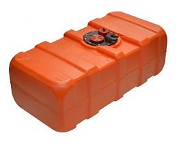 Топливный бак переносной к лодочному мотору из полиэтилена Eltex 53 литра