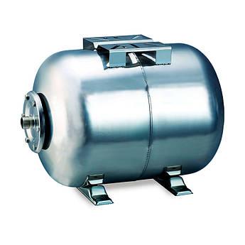 Гідроакумулятор горизонтальний 24л (нерж) Aquatica