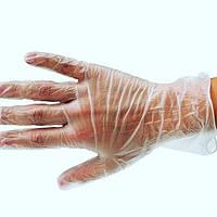 Перчатки Safetouch виниловые без пудры размер S