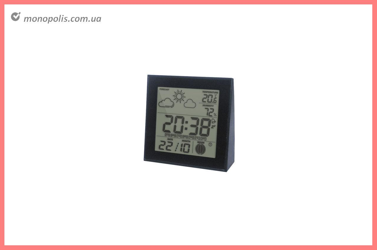 Термогигрометр цифровой Стеклоприбор - (0/+50°C) Т-06 черный