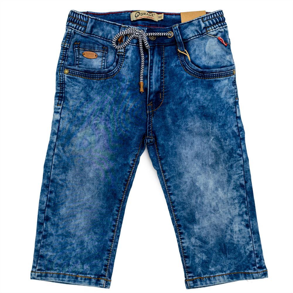 Шорты для мальчиков Grace 134  синие 70713