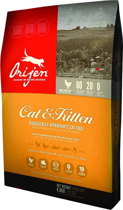 Сухий корм Orijen Cat & Kitten для котів всіх порід і вікових груп 1.8 кг