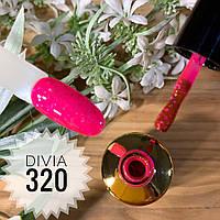 Divia Гель-лак для нігтів Brilliant Di300 №320 (Конфетті)