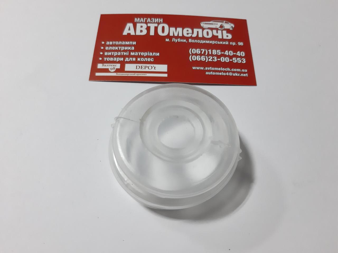 Пыльник универсальный 16х48 с металлическим кольцом ( силиконовый )