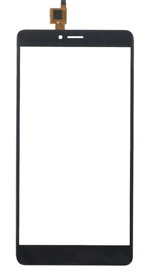 Touchscreen (сенсор) для Bluboo Maya MAX Чорний