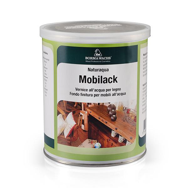 Акриловый лак для интерьеров, Naturaaqua Mobilack, Borma Wachs, Interiors Line, 0-5% Gloss, 375 мл.