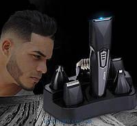 Машинка для стрижки волос триммер Kemei KM-640 Super 8 в 1