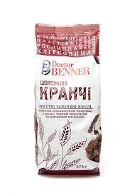 """Кранчi шоколадні """"Dr.Benner"""" 375г"""