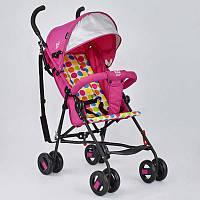 Коляска прогулочная Joy, розовая SKL11-183391