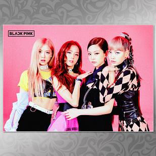 Плакат K-Pop Black Pink