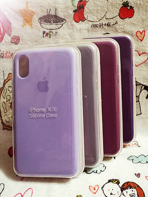 Чехол iPhone X / Xs Soft Touch Silicone Case с микрофиброй внутри (MKX32FE) - Color 24, фото 2