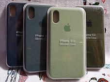 Чехол iPhone X / Xs Soft Touch Silicone Case с микрофиброй внутри (MKX32FE) - Color 26, фото 2