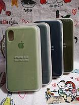 Чехол iPhone X / Xs Soft Touch Silicone Case с микрофиброй внутри (MKX32FE) - Color 28, фото 2