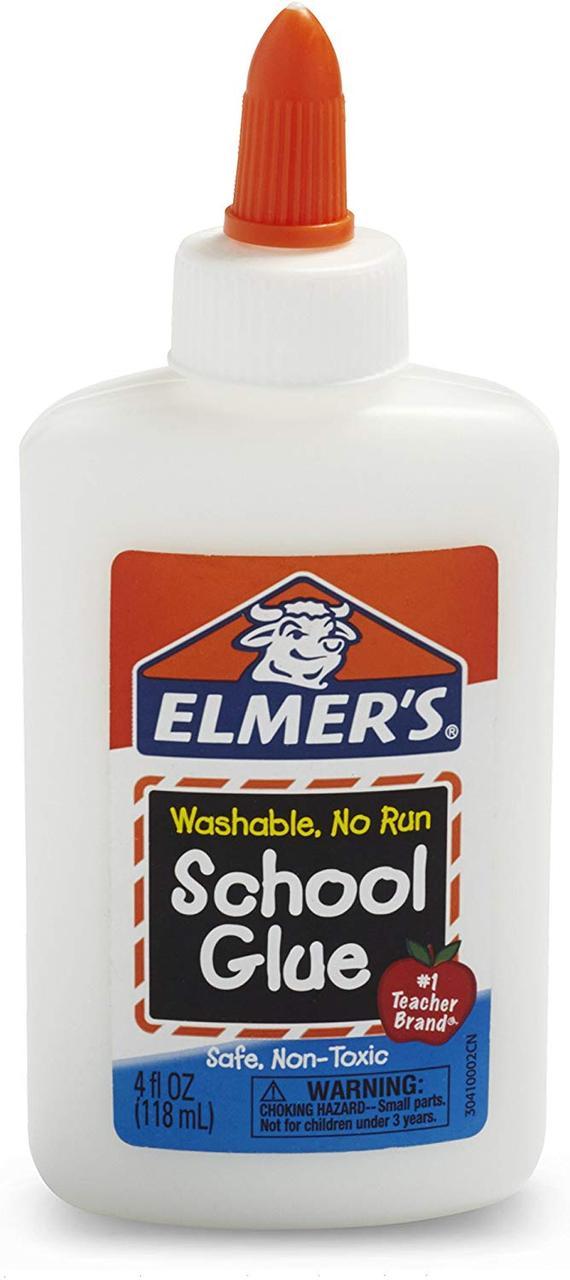 Элмерс Прозрачный Клей Elmer's 118 мл, идеален для слаймов!