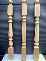 Деревянная балясина-столб из бука фрезерованная