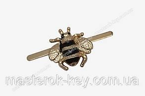 Украшение муха 11241 цвет золото