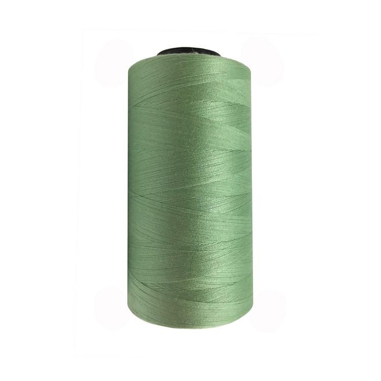 Швейна нитка 100% PE 50/2 кол S-063 зелений блідий (боб 4000ярдов/12боб/120боб) NITEX