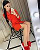 Женский юбочный костюм короткая юбка на пуговичках и короткий пиджак  42-44, 44-46, фото 2