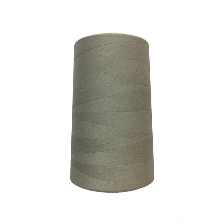 Нить швейная 100% PE 50/2 цв S-165 серый светлый (боб 4000ярдов/12боб/120боб) NITEX