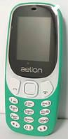 Кнопочный телефон с камерой и большими, удобными кнопками AELion A300 Green