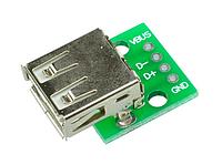 Переходник USB ->  4pin 2.54мм