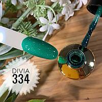Divia Гель-лак для нігтів Brilliant Di300 №334 (Країна Оз)