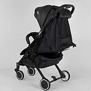 """Коляска прогулочная детская """"JOY"""" Vittoria 52254 (1) цвет Серый лен Гарантия качества Быстрая доставка, фото 4"""
