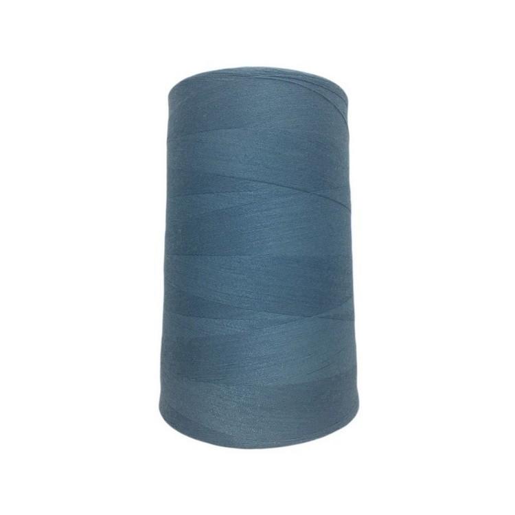 Нить швейная 100% PE 50/2 цв S-231 синий бледный (боб 4000ярдов/12боб/120боб) NITEX