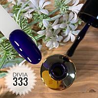 Divia Гель-лак для нігтів Brilliant Di300 №333 (Глибинний Синій)