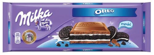 Шоколад Milka Oreo молочный 300 г, фото 2