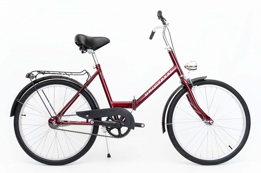 Велосипед cкладний Uniwersal 24 Red Польща
