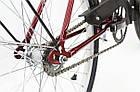 Велосипед cкладний Uniwersal 24 Red Польща, фото 5