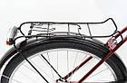 Велосипед cкладний Uniwersal 24 Red Польща, фото 6