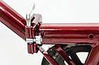 Велосипед cкладний Uniwersal 24 Red Польща, фото 8
