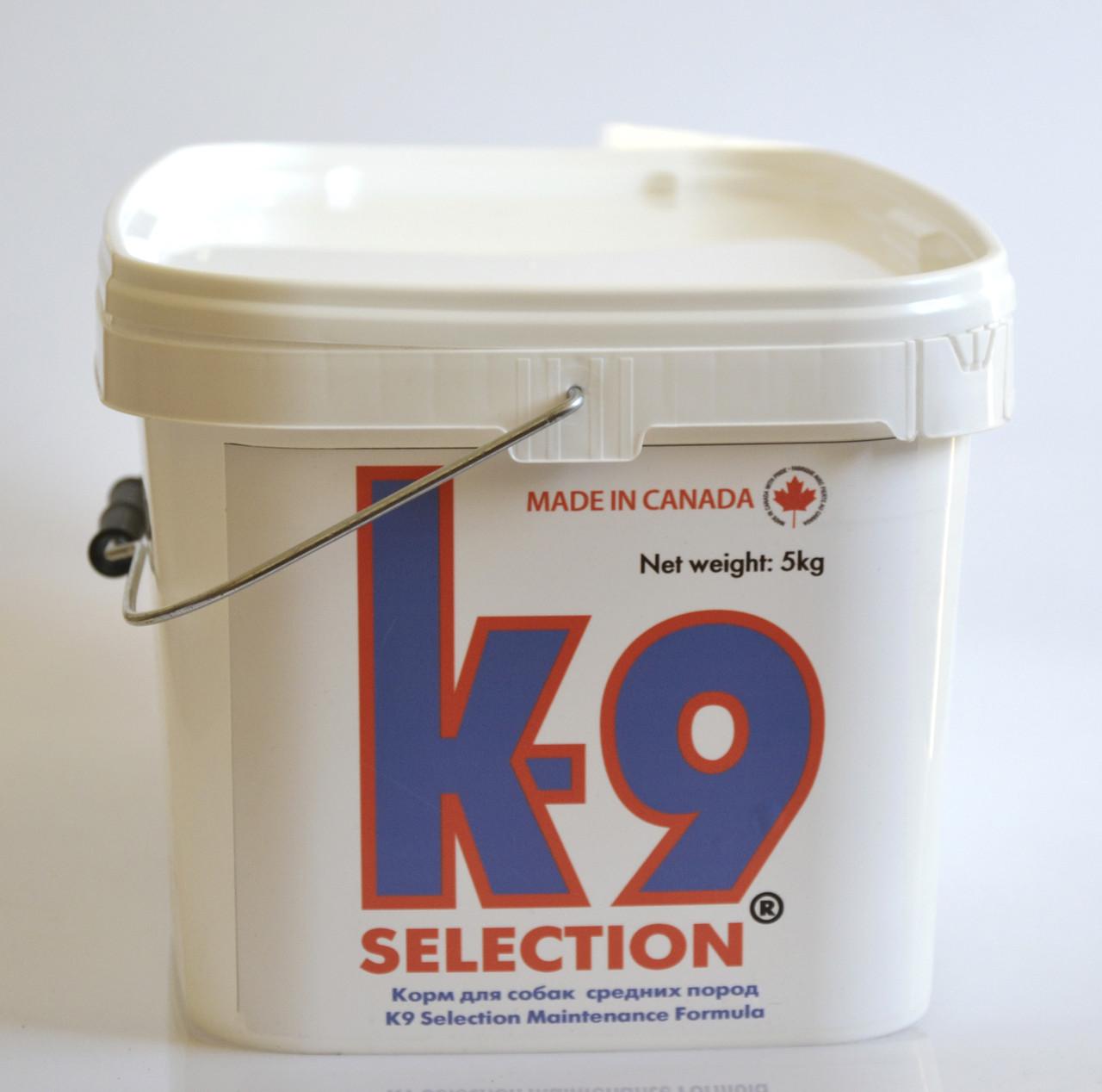 K9 Medium Breed. Корм для собак средних пород 5 кг (контейнер)