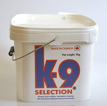 Сухой корм для собак средних пород K-9 Selection Medium Breed 5 кг + контейнер в подарок