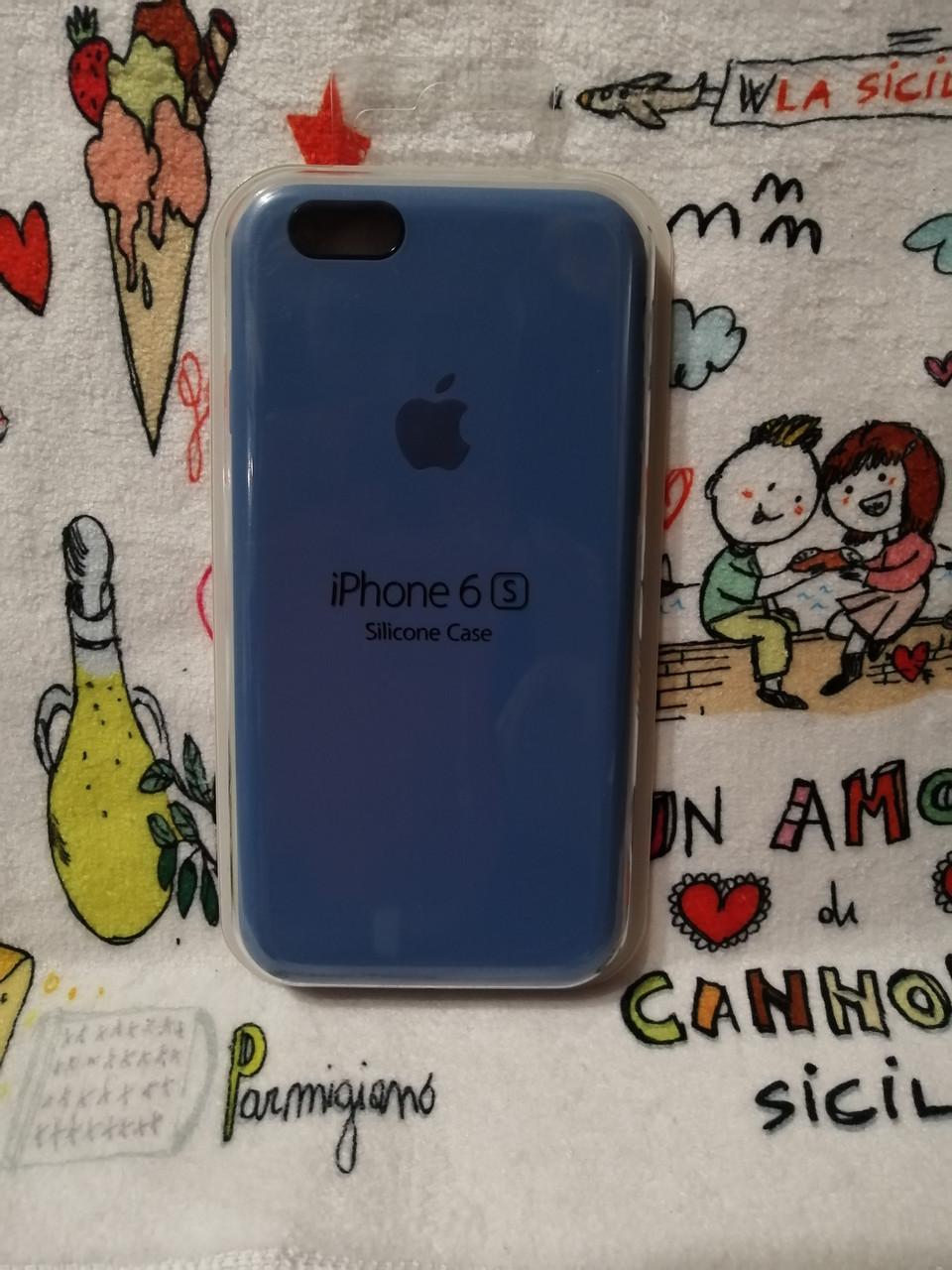 Силиконовый чехол для Айфон  6 / 6S  Silicon Case Iphone 6 / 6S в защищенном боксе - Color 36