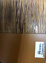 Профнастил ПС-20 3D дерево/грунт 8004/8017, толщина 0,40мм, фото 2