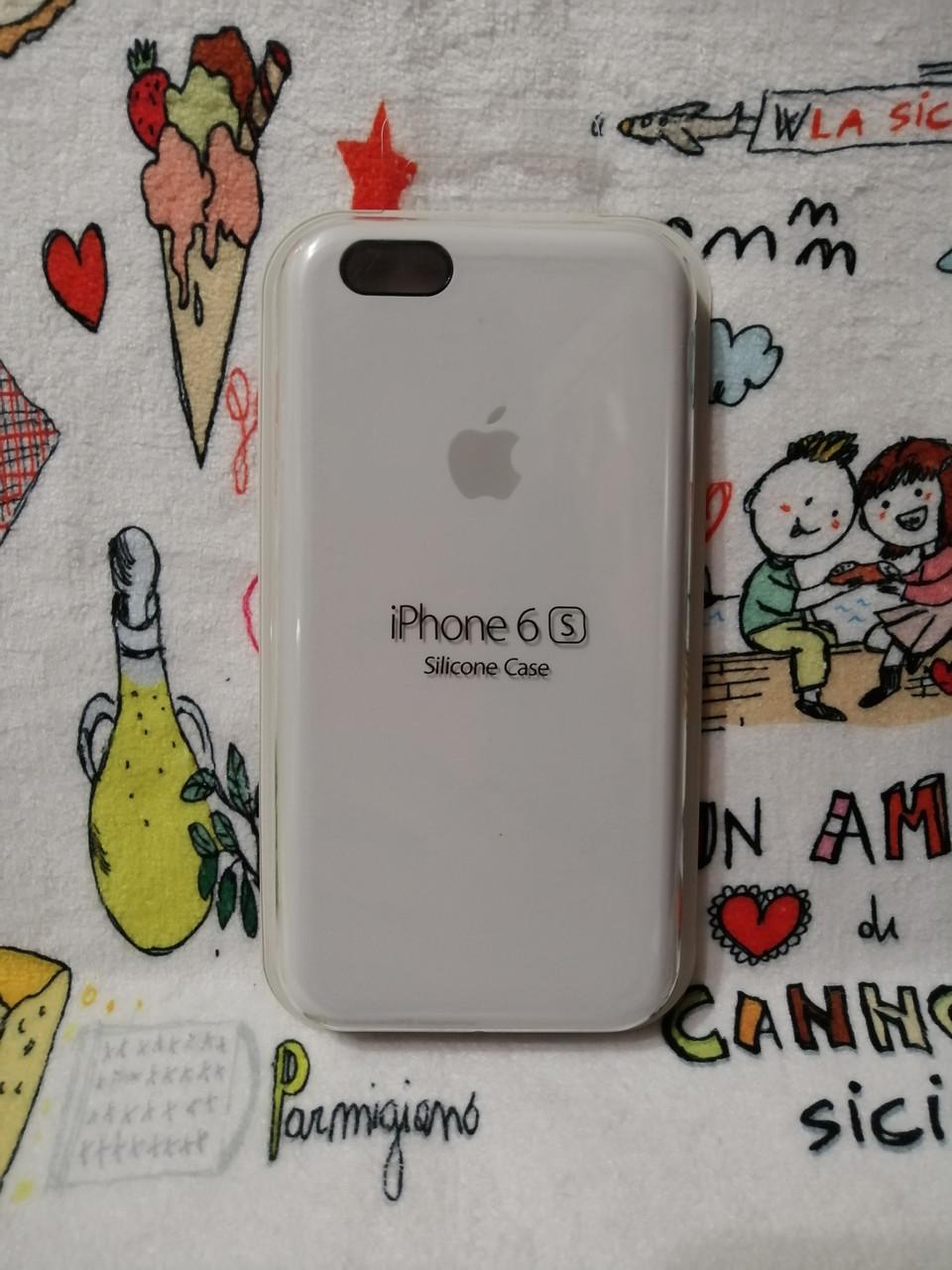Силиконовый чехол для Айфон  6 / 6S  Silicon Case Iphone 6 / 6S в защищенном боксе - Color 1