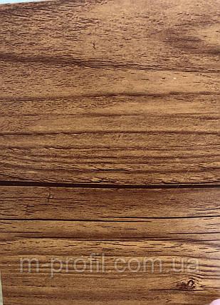 Профнастил ПС-20, ольха темна  0,35мм, фото 2