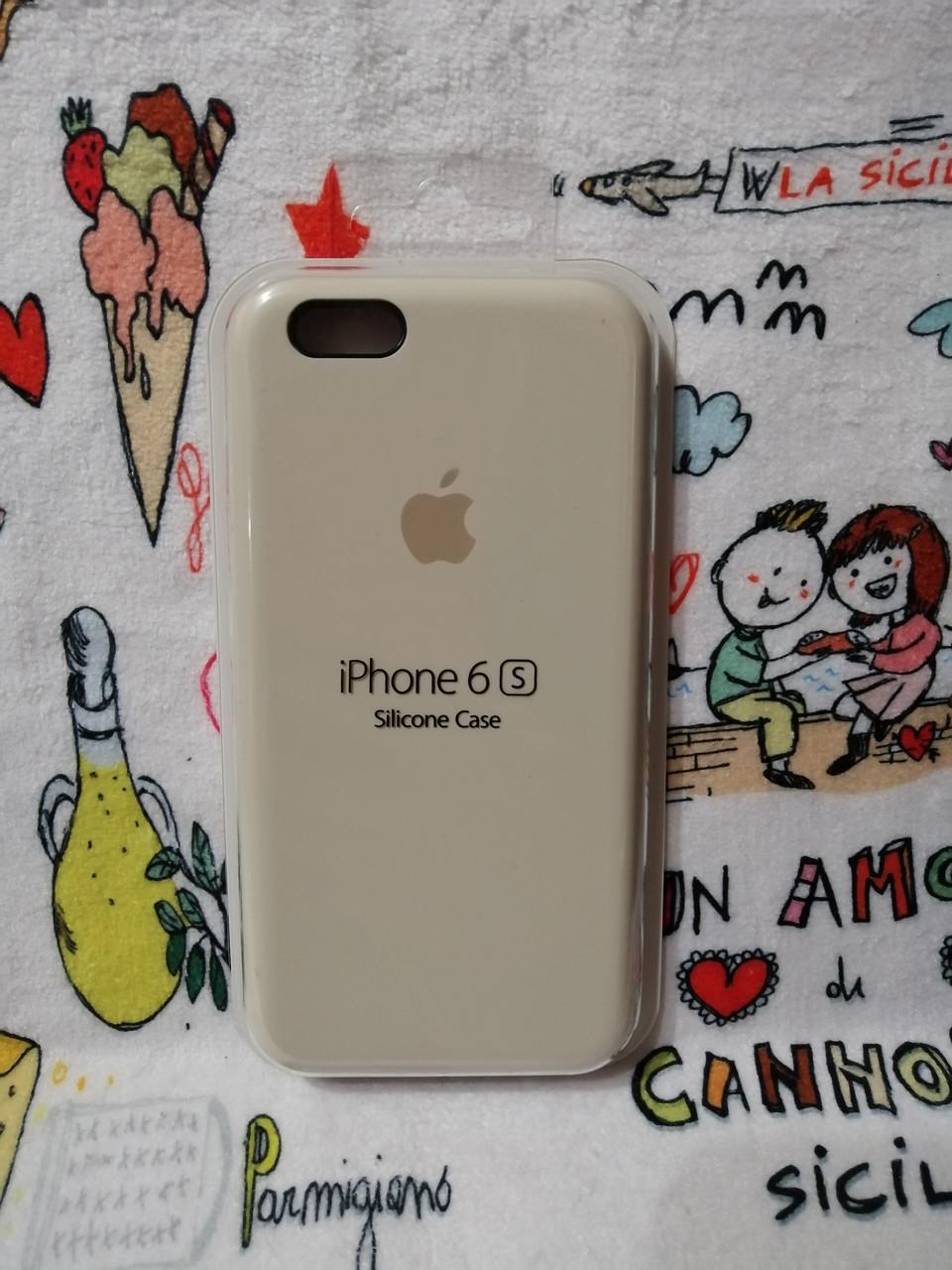 Силиконовый чехол для Айфон  6 / 6S  Silicon Case Iphone 6 / 6S в защищенном боксе - Color 2