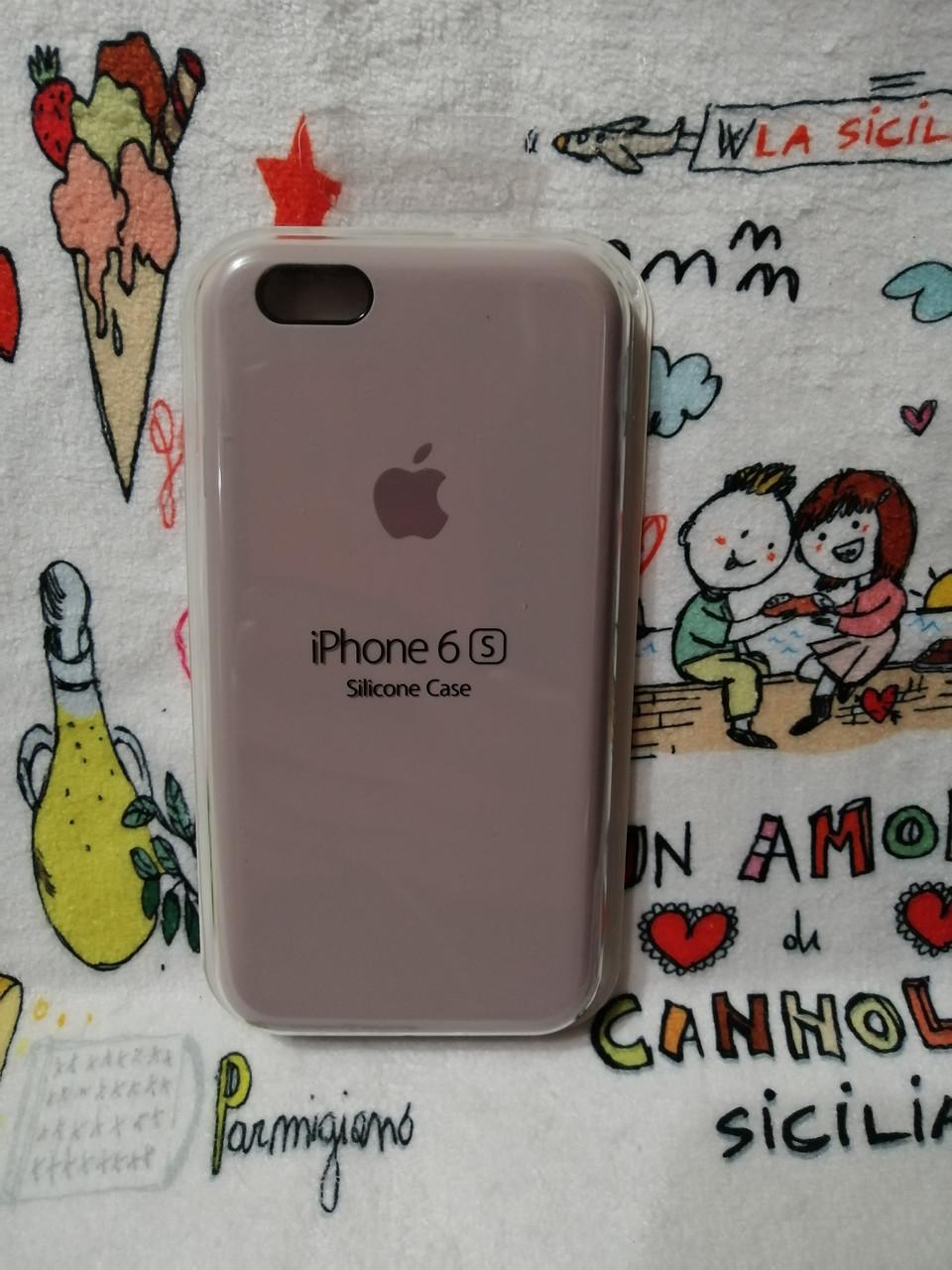 Силиконовый чехол для Айфон  6 / 6S  Silicon Case Iphone 6 / 6S в защищенном боксе - Color 3